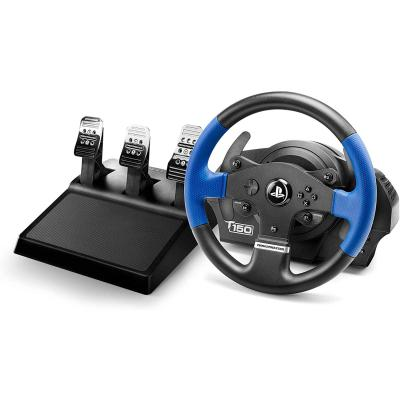 Thrustmaster T150 PRO Force Feedback, Volante PS4 PS3 PC, 3 pedales, Licencia Oficial Playstation
